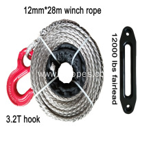 12mm Winch Rope With Hook